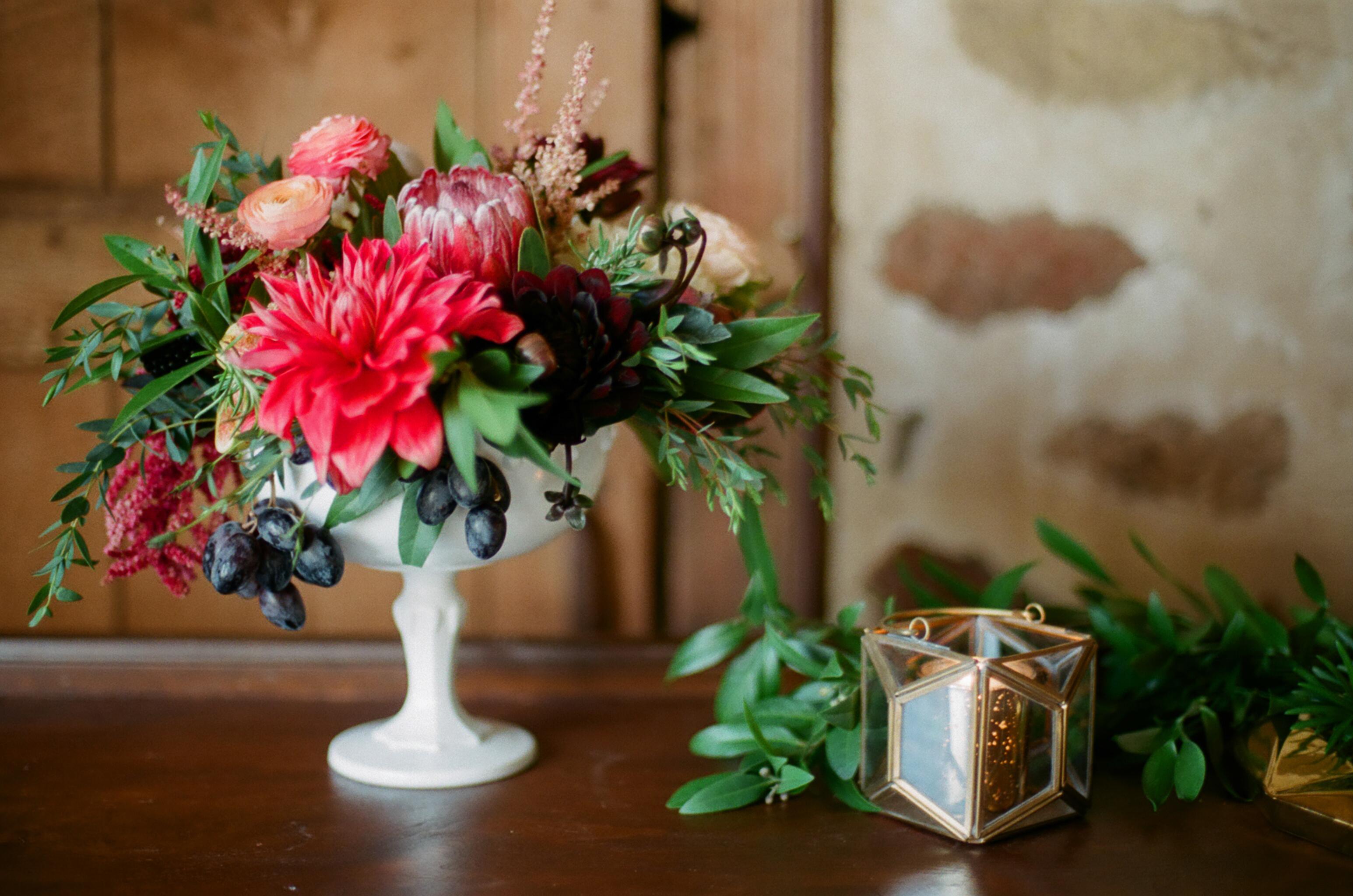 Fruit Filled Wedding Inspiration – Styled Shoot   Birch Hill Barn