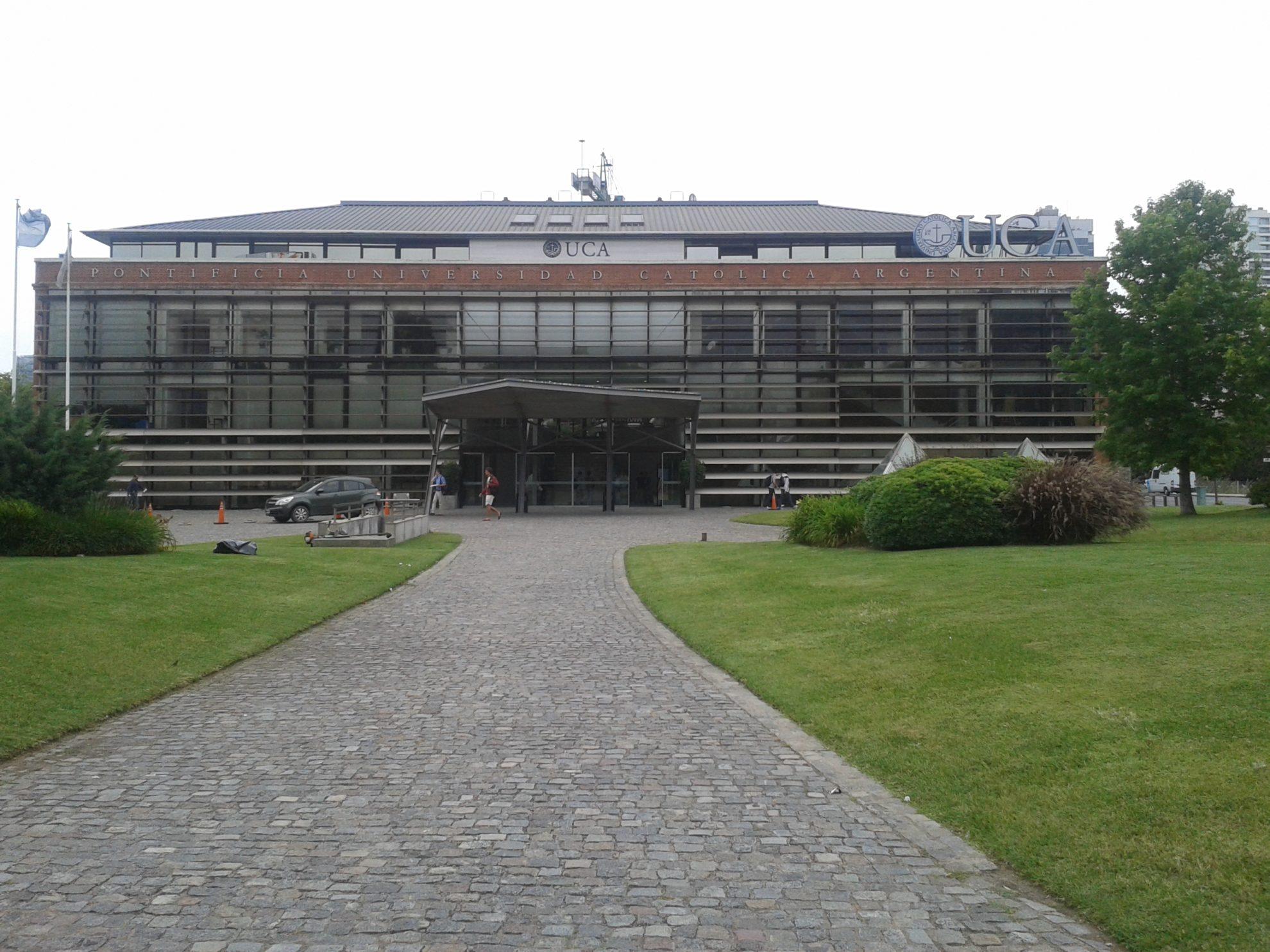 A PUC Argentina (foto) e a Universidade de Buenos Aires (UBA) são duas das instituições que atraem brasileiros. Crédito: Rodrigo Borges Delfim