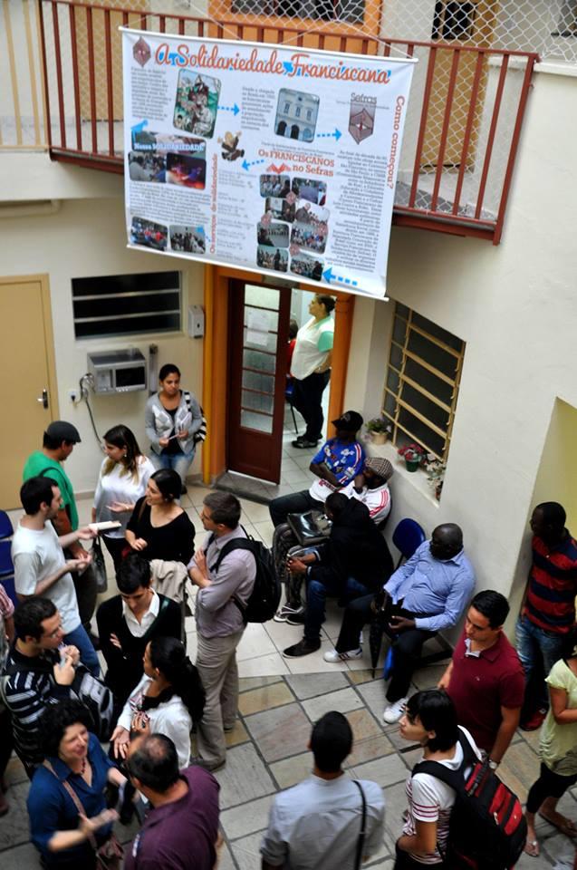 Desde a inauguração, o centro para imigrantes já acolheu mais de 200 pessoas. Crédito: Divulgação/Sefras