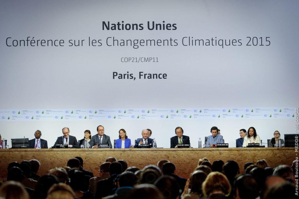 Questão dos refugiados ambientais está no Acordo de Paris, costurado na COP-21. Crédito: Arnaud Bouissou/ COP21/Fotos Públicas - 12/12/2015