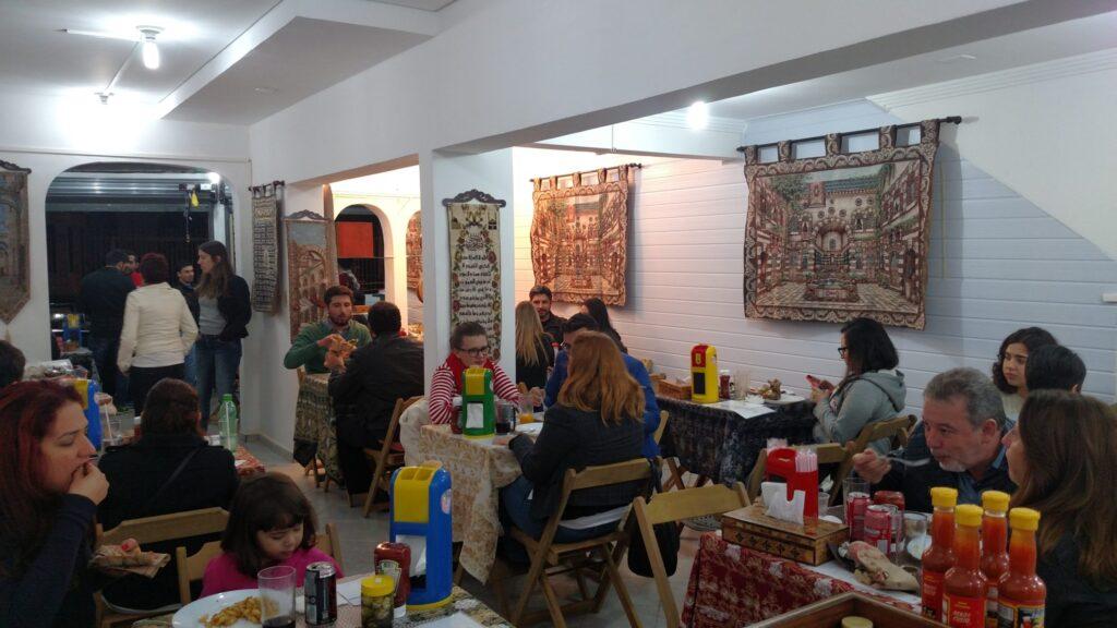 O restaurante Talal Culinária Síria agora é uma realidade. Crédito: Rodrigo Borges Delfim/MigraMundo