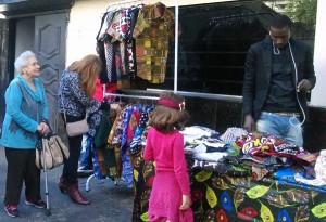 Moda africana era uma das atrações do festival. Crédito: Géssica Brandino
