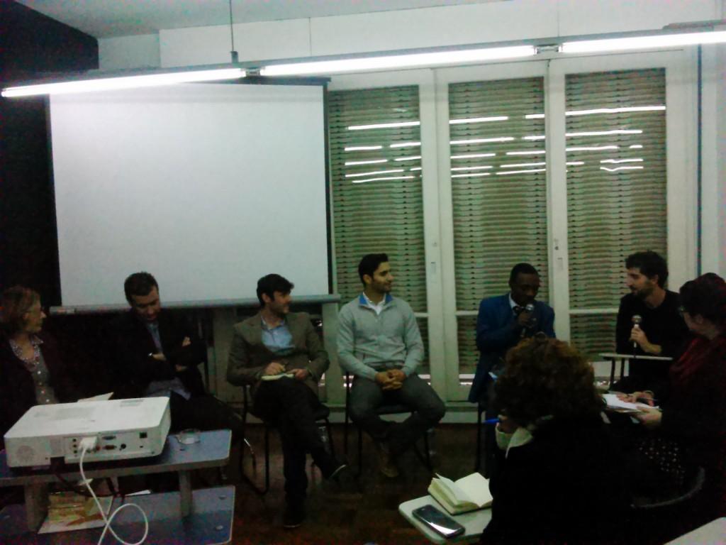 Evento reuniu refugiados, imigrantes e demais pessoas engajadas na questão migratória. Crédito: Géssica Brandino