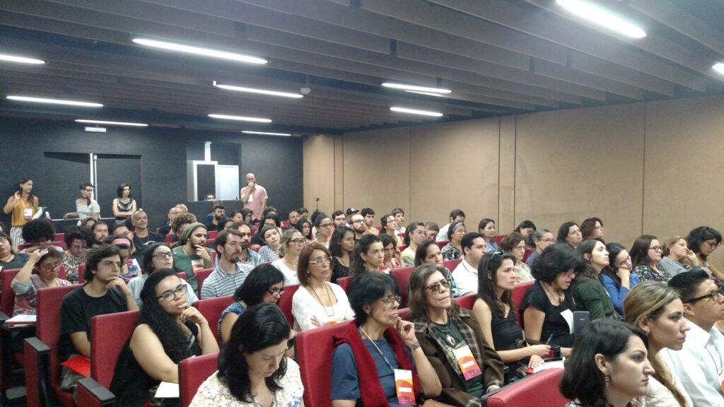 Seminário teve bom público no Museu da Imigração. Crédito: Rodrigo Borges Delfim/MigraMundo