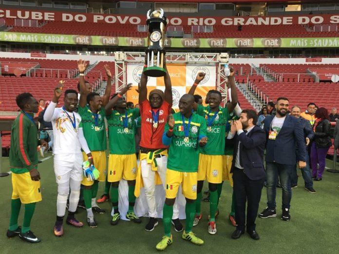 Senegal conquistou o bicampeonato da Copa dos Refugiados no Rio Grande do Sul
