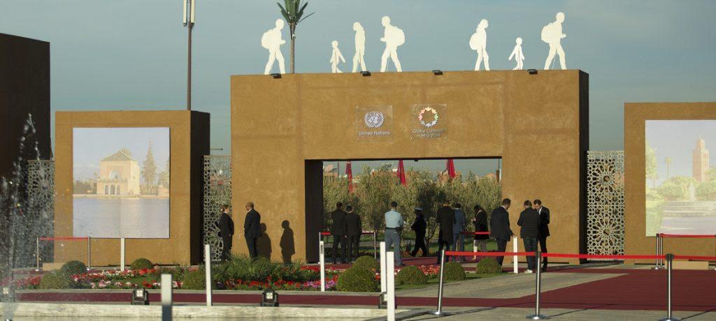 Local da conferência em Marrakech (Marrocos), onde foi firmado o Pacto Global para a Migração - do qual o Brasil se retirou.