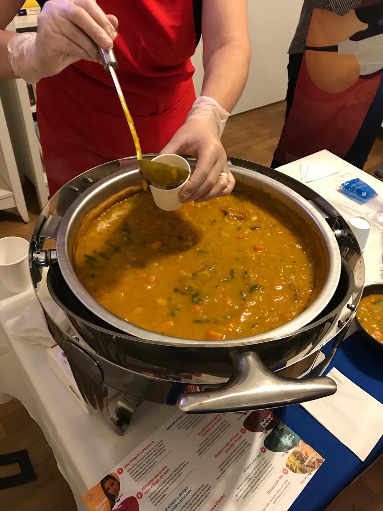 Soup Joumou, do Haiti, também conhecida como