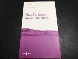 """Capa do livro """"Minha Terra Mora em Mim"""", de Bruna Kadletz"""