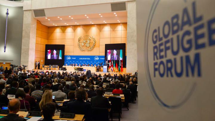 Fórum Global sobre Refugiados, em Genebra (Suíça)
