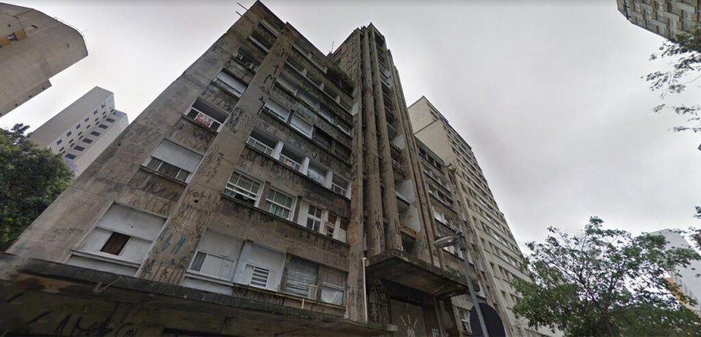 Ocupação 9 de Julho, no centro de São Paulo
