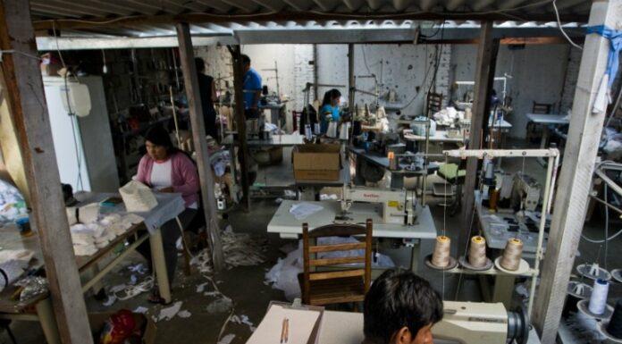 Oficina de costura trabalho escravo