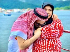 Imigrantes e amigos homenageiam sírio que perdeu a mãe por coronavírus