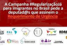 Petição pede aprovação urgente de projeto que regulariza imigrantes indocumentados no Brasil