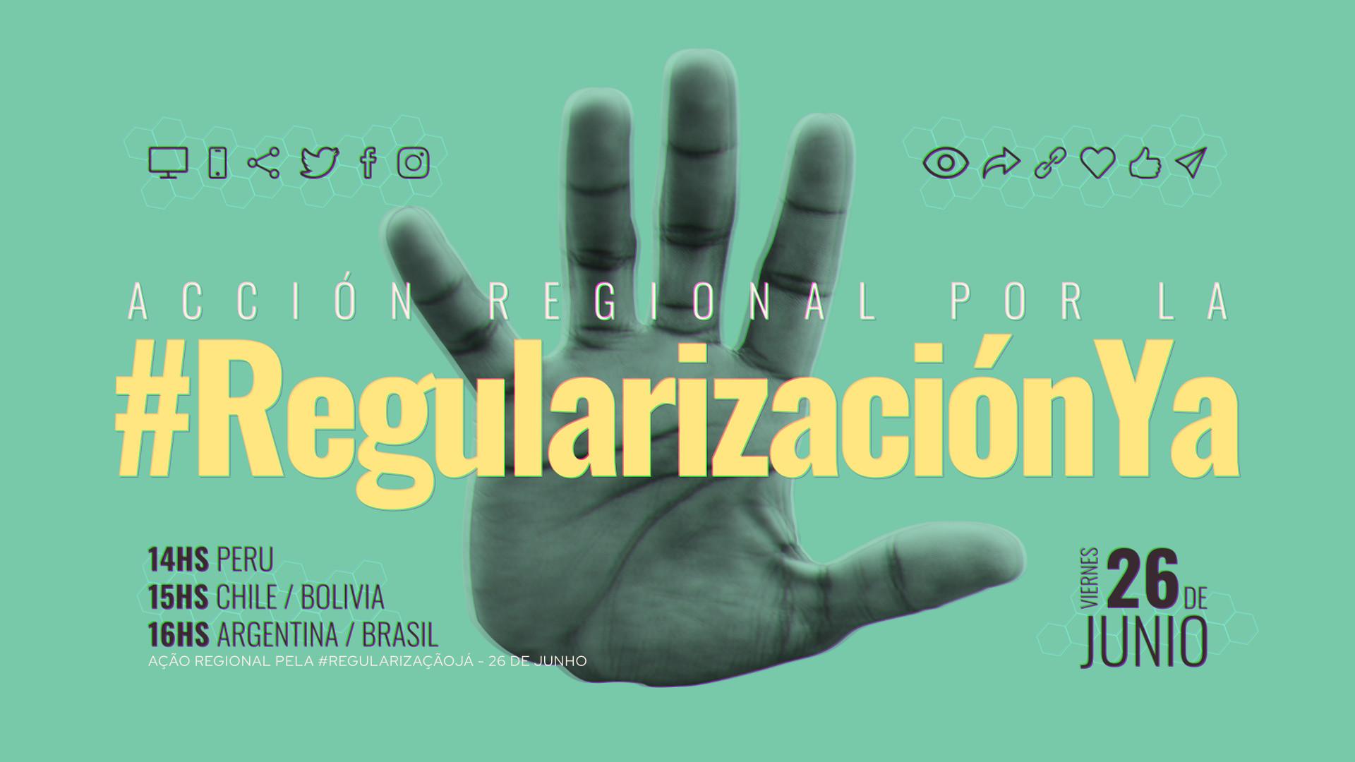 Imigrantes no Brasil e mais 4 países fazem campanha por regularização migratória em resposta à Covid-19