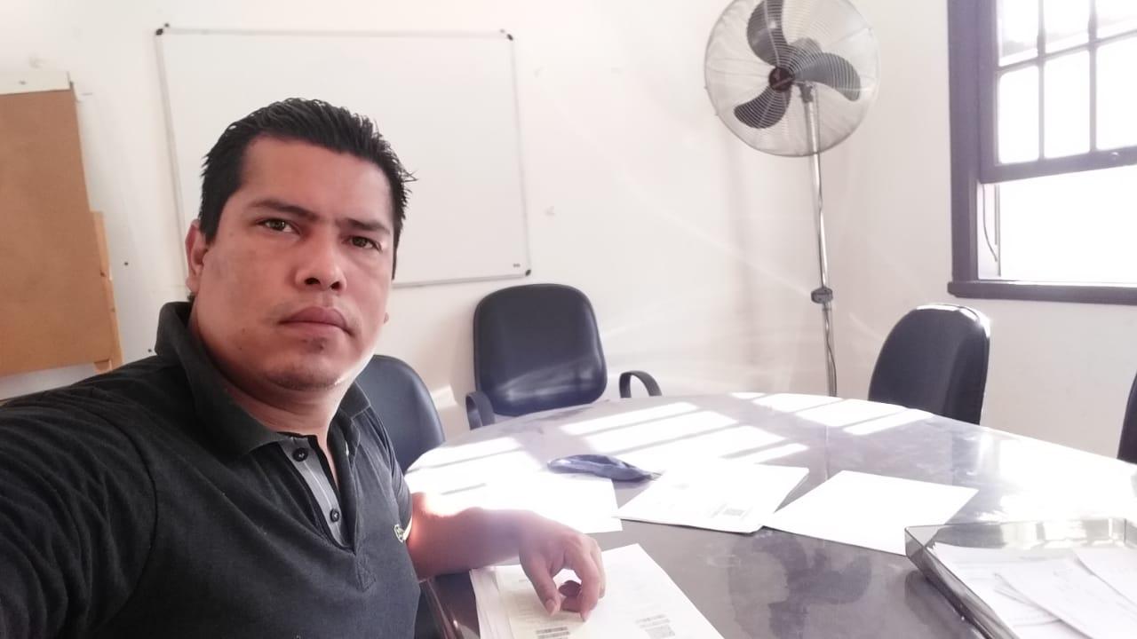 O boliviano Omar Castro Sánchez, atualmente agente social no CAMI (Centro de Apoio e Pastoral do Migrante