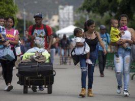 Venezuelanos Colômbia