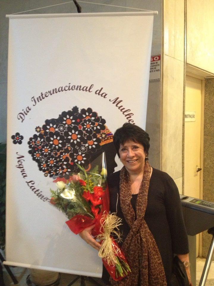 A chilena Oriana Jara, militantes histórica dos direitos dos imigrantes no Brasil