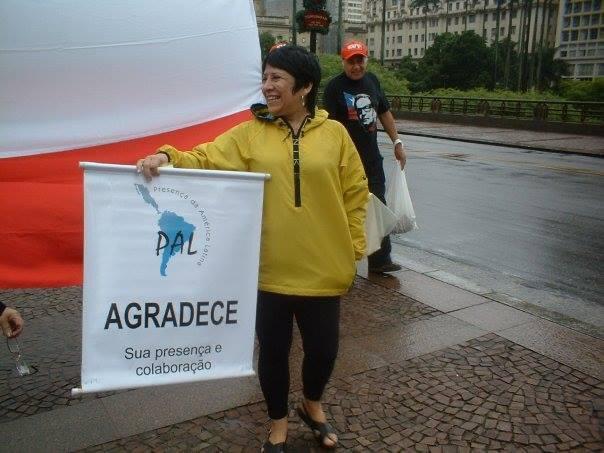 Entre outras realizações, Oriana Jara foi fundadora da ONG Presença de América Latina