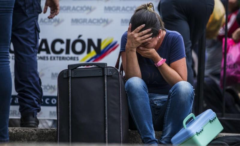 Colômbia migrantes Venezuela
