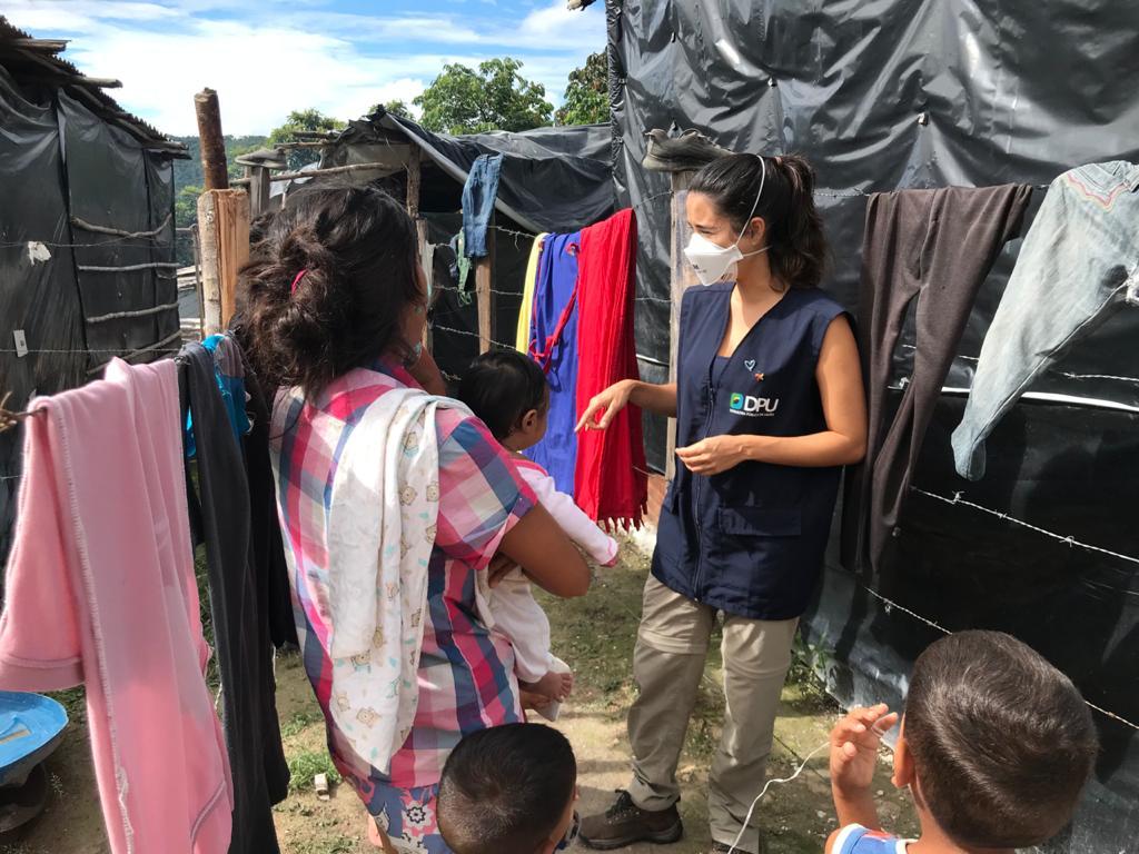 Missão da DPU identificou situações de precriedade vividas por venezuelanos em Roraima