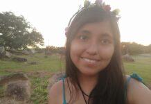 Jaqueline Cuevas Cortes, filha caçula de imigrantes bolivianos que vai se formar na USP em 2021.