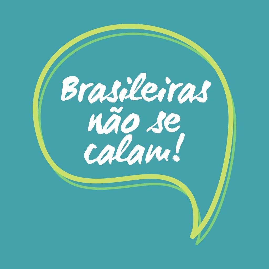 Logo do projeto Brasileiras Não se Calam