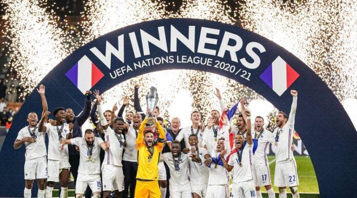 Seleção da França venceu a Liga das Nações europeias