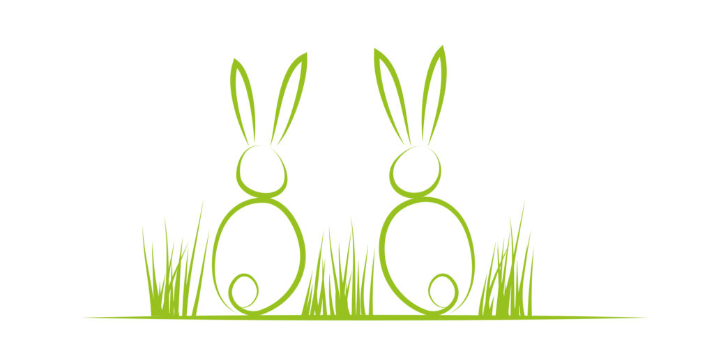 Two rabbits marketing