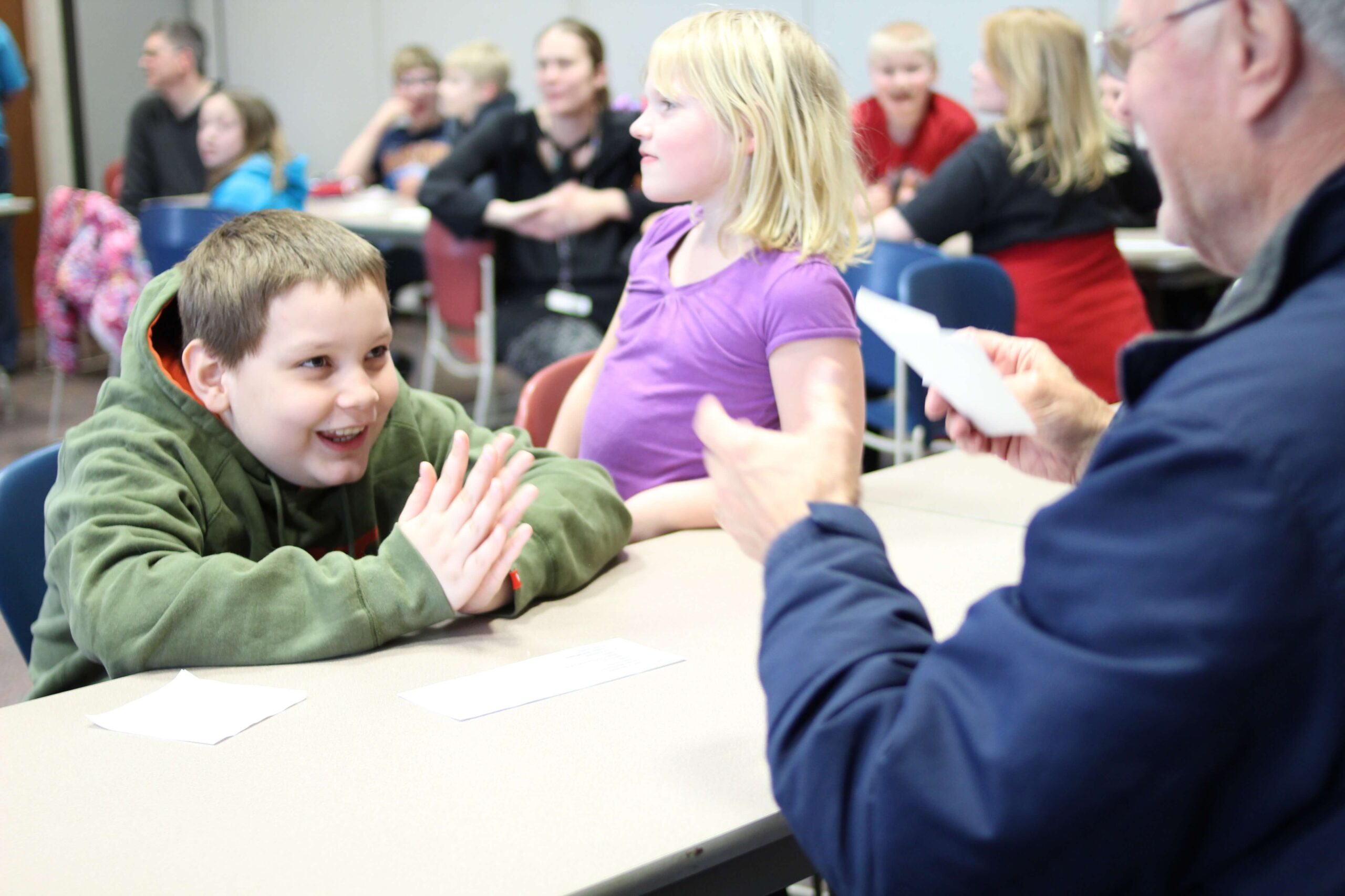 Marion Cares offers Family Programming