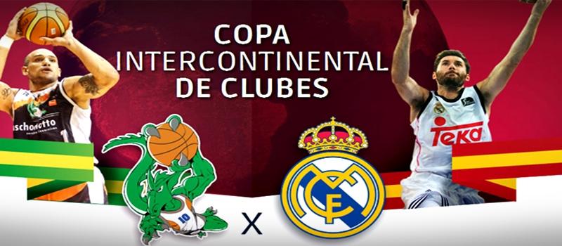 Copa Intercontinental 2015   Bauru Basket vs Real Madrid