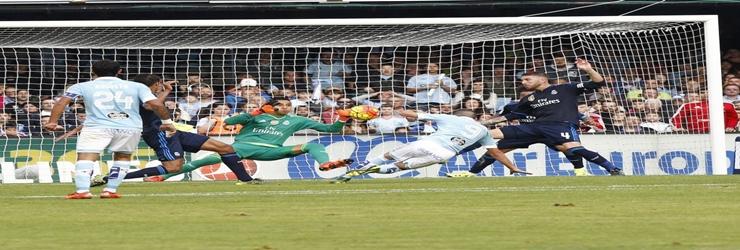 Keylor y diez mas: Celta 1 – 3 Real Madrid