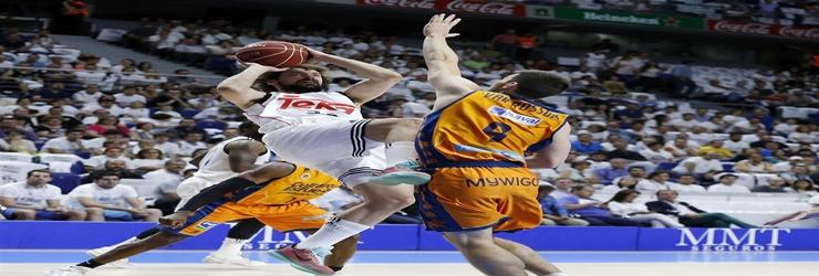 El Laso Team todavia no arranca: Real Madrid 82 – Valencia Basket 88