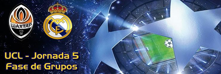 Acabarón pidiendo la hora: Shakhtar 3 – 4 Real Madrid