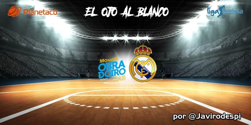 CRÓNICA   EL OJO AL BLANCO   Suma y a seguir: Monbus Obradoiro 73 – 86 Real Madrid