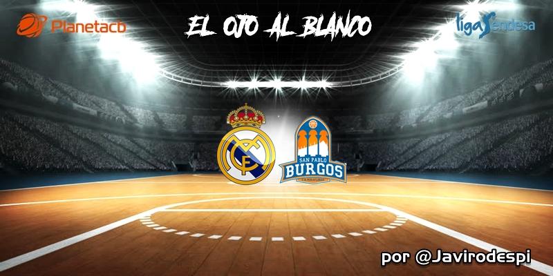 CRÓNICA   EL OJO AL BLANCO   Solo un susto de Halloween: Real Madrid 90 – 77 San Pablo Burgos