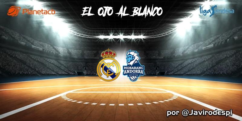 CRÓNICA   EL OJO AL BLANCO   Morir en la orilla: Real Madrid 105 – 107 Morabanc Andorra