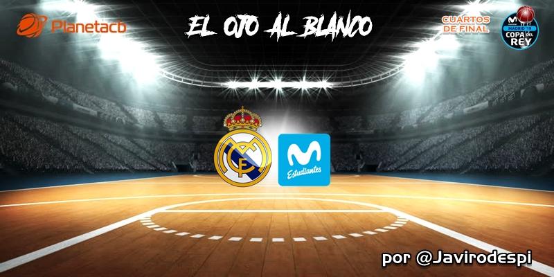 CRÓNICA | EL OJO AL BLANCO | Victoria por aplastamiento: Real Madrid 94 – 63 Movistar Estudiantes
