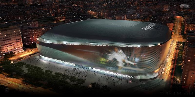 NOTICIAS   El Real Madrid presenta la reforma del estadio Santiago Bernabéu
