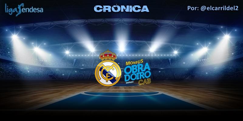 CRÓNICA | Real Madrid 94 – 70 Monbus Obradoiro | Liga Endesa | Jornada 27