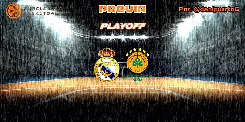 PREVIA | Real Madrid vs Panathinaikos | Euroleague | Playoff