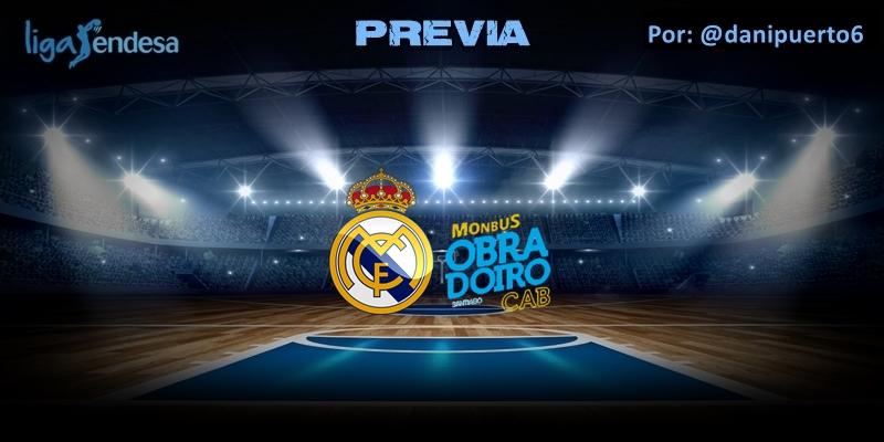 PREVIA | Real Madrid vs Monbus Obradoiro | Liga Endesa | Jornada 27