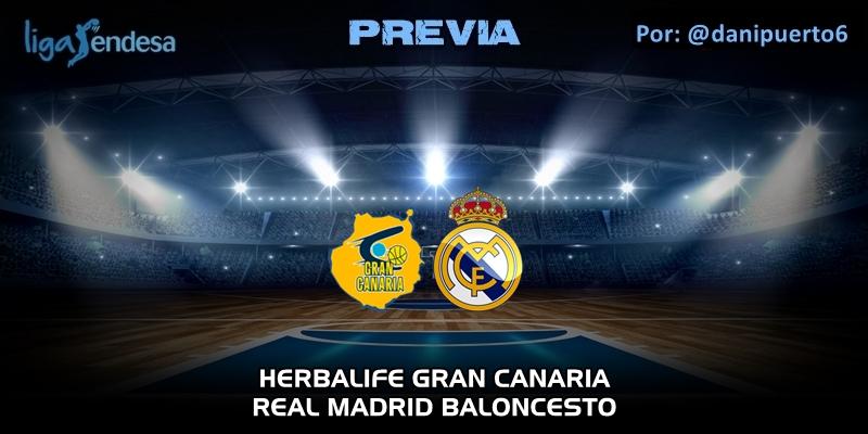 PREVIA | Herbalife Gran Canaria vs Real Madrid | Liga Endesa | Jornada 26