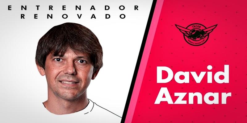 NOTICIAS   David Aznar renueva con el CD Tacon