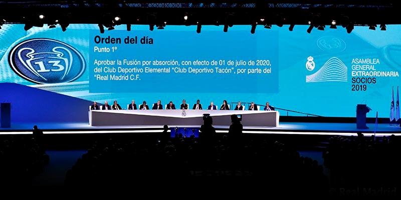 NOTICIAS   La Asamblea General Extraordinaria aprueba la absorción del Club Deportivo Tacon