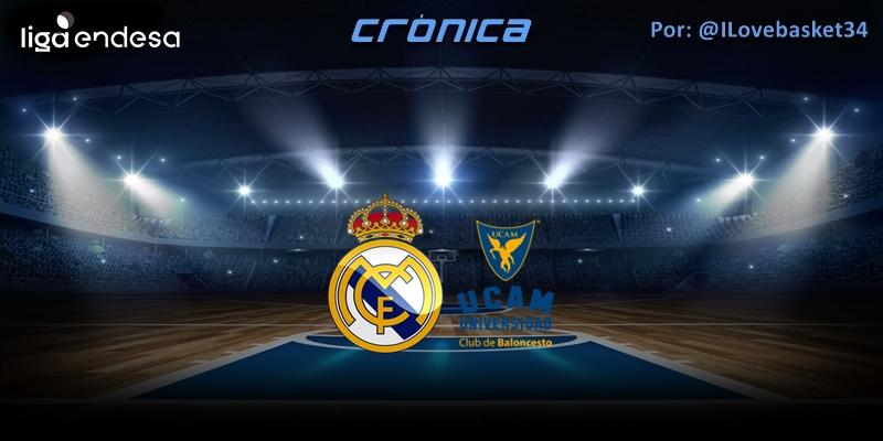 CRÓNICA   Con Garuba y a lo loco: Real Madrid 97 – 69 UCAM Murcia