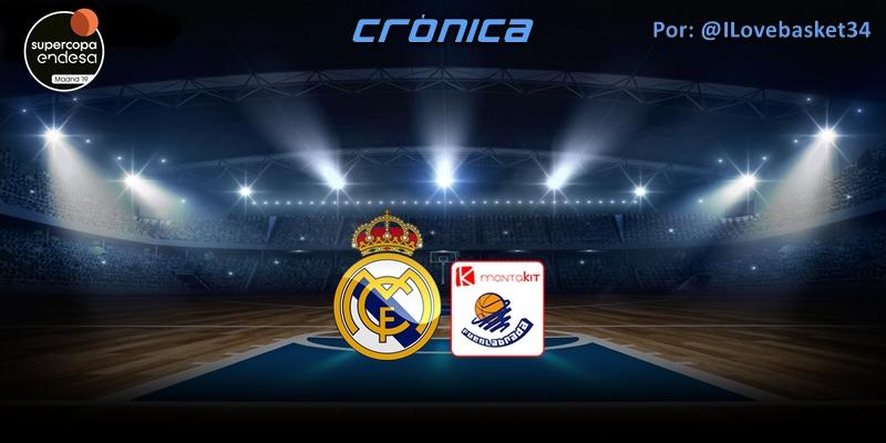 CRÓNICA   Sin complejos: Real Madrid 116 – 61 Montakit Fuenlabrada