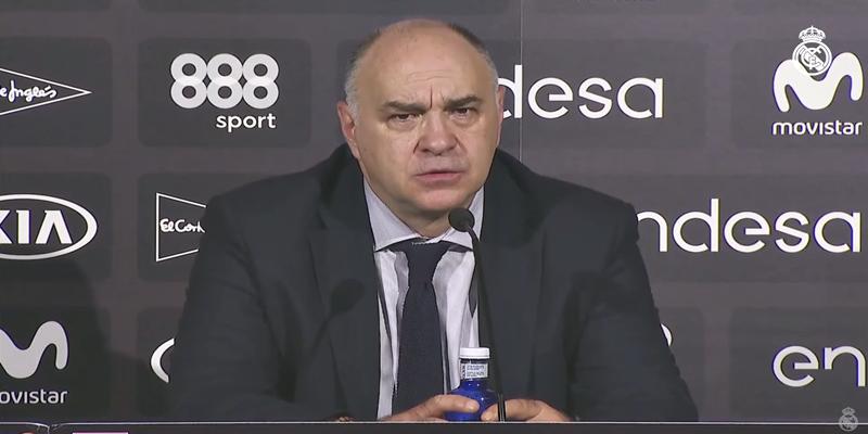 VÍDEO   Pablo Laso: «A partir de nuestro buen balance defensivo y control del juego hemos impuesto nuestro ritmo»
