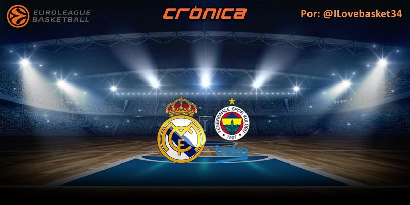 CRÓNICA   De poder a poder: Real Madrid 81 – 77 Fenerbahçe
