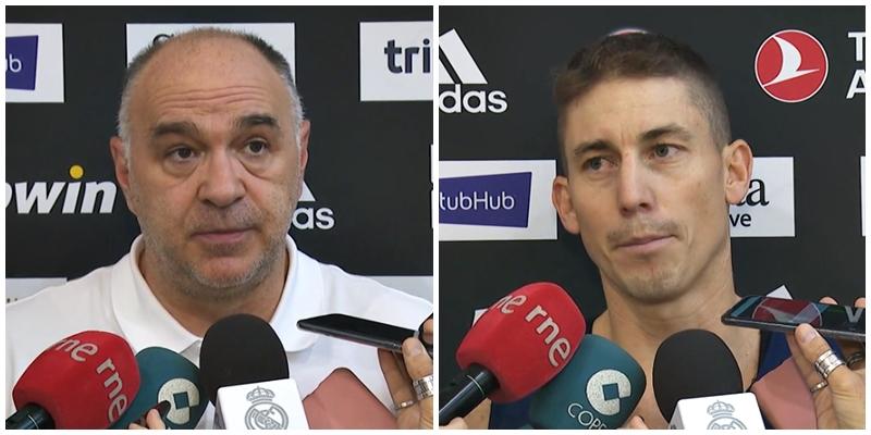 VÍDEO | Declaraciones de Pablo Laso y Jaycee Carroll en la previa del partido ante Zalgiris