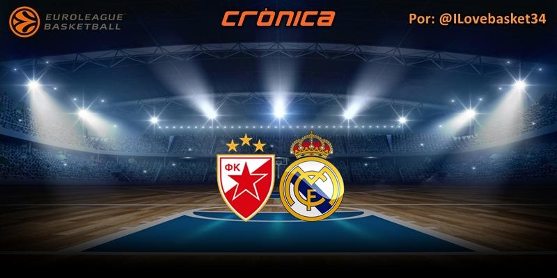 CRÓNICA   Lo mejor, el resultado: Estrella Roja 60 – 75 Real Madrid